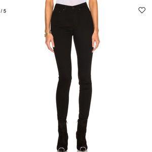 Acne Studios Pin Black Skinny Jeans Size 31/34
